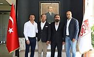 Tolunay Kafkas, Sivasspor'un altyapı tesislerini inceledi