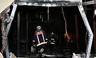 Başkentte restoranda yangın