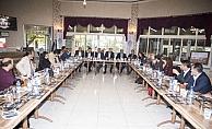 Kahramankazan'da gazeteciler onuruna yemek
