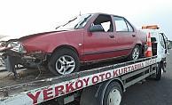 Yozgat'ta trafik kazası: 3 yaralı
