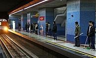 Ankara#039;da Korkunç Olay: Metro Durağında Canına Kıydı