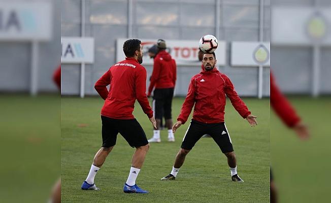 Sivasspor'da Konyaspor maçı mesaisi sürüyor
