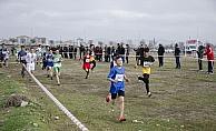 Okullar Arası Kros Yarışları Kahramankazan'da yapıldı