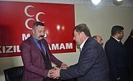 AK Parti Kızılcahamam Belediye Başkan adayı Acar'dan ziyaret