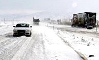 Ankara-Bolu kara yolunda ulaşıma kar ve tipi engeli