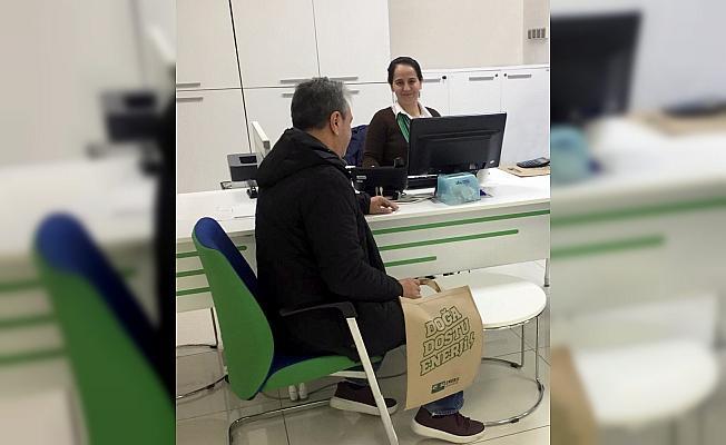 CK Enerji Akdeniz Elektrik'ten geri dönüşümlü 10 bin bez çanta