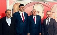 Kahramankazan'da AK Parti'den MHP'ye ziyaret