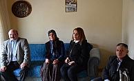 Kaymakam Karaca'nın ev ziyaretleri