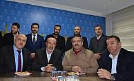 MHP Genel Başkan Yardımcısı Yıldırım'dan AK Parti'ye ziyaret