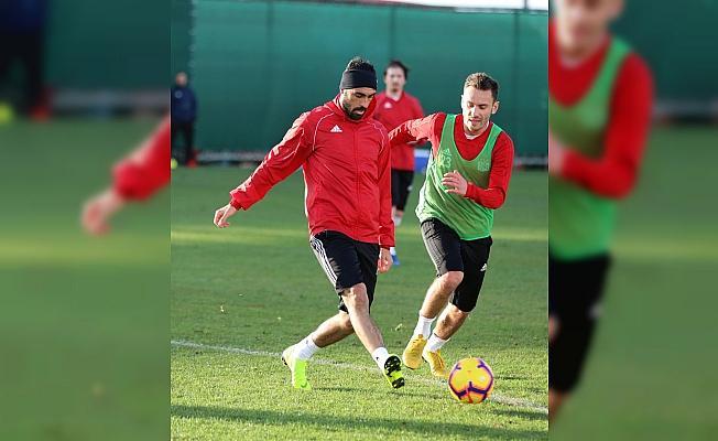 Sivasspor, Aytemiz Alanyaspor maçı hazırlıklarına başladı