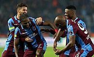 Trabzonspor golcüleriyle gülüyor