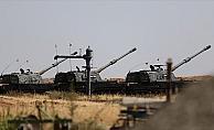 TSK Tel Rıfat'ta yuvalanan YPG/PKK'lı teröristleri obüslerle vurdu