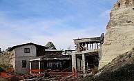 Göreme'deki otel inşaatının durdurulması