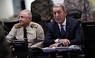 Milli Savunma Bakanı Akar: Yeri ve zamanı geldiğinde YPG tehdidine son verilecek