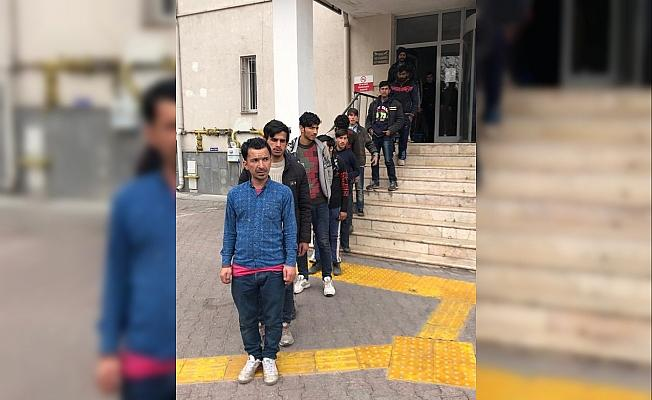 Kayseri'de 36 düzensiz göçmen yakalandı