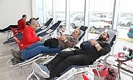Kızılay'ın Beyşehir'de düzenlediği kan bağışı kampanyası