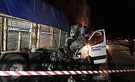 Konya'da trafik kazası: 2 ölü, 13 yaralı