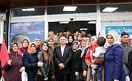 Milletvekili Yılmaz, Suşehri'nde seçim bürosu açılışına katıldı