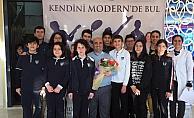 Modern Eğitim Koleji TÜBİTAK Yarışması'nda bölge finalinde