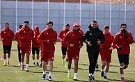 Sivasspor, Kayserispor maçı hazırlıklarını sürdürdü