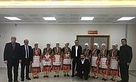 Suşehri halk oyunları ekibi 3. oldu