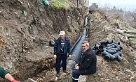 Suşehri'nde sulama kanalları kapalı sisteme alındı