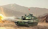 Altay tankı gövde gösterisine hazırlanıyor