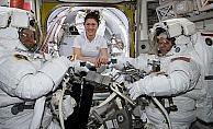 Amerikalı kadın astronot Koch UUİ'de 11 ay kalacak