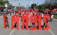Ankarada 1 Mayıs Mitingi Tandoğanda