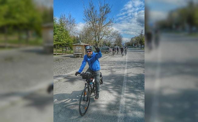 Beyşehir'de pedallar çocuklar için döndü