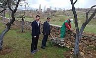 Bozkır'daki okullara milli eğitimden yapılan ziyaretler