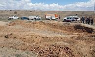 Eskişehir'de buzağı kurtarma operasyonu
