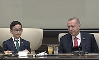 Minik Cumhurbaşkanı#039;ndan Kılıçdaroğlu sorusuna gülümseten yanıt