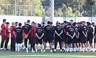 A Milli Futbol Takımı'nın Antalya kampı başladı