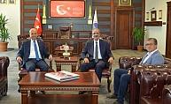 Başkan Ekicioğlu'dan Rektör Karakaya'ya ziyaret