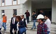 Belediye Başkanı Yüksel TOKİ'de incelemelerde bulundu