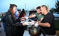 Hayırsever vatandaştan öğrencilere iftar