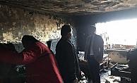 Kaymakam Partal evleri hasar gören ailelere ziyaret