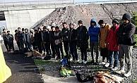 Kayseri'de 32 düzensiz göçmen yakalandı