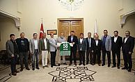 Sivas Belediyespor yönetiminden Vali Ayhan'a ziyaret