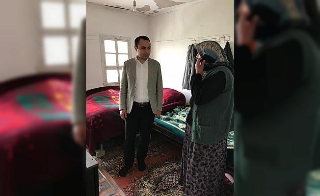 Suşehri Kaymakam Vekili Partal'dan yaşlılara ziyaret