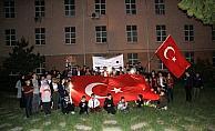 Suşehri'nde gençlik yürüyüşü