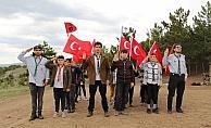 Suşehri'nde izcilik kulübü üyelerine doğa eğitimi verildi