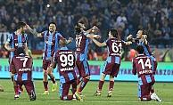 Trabzonspor son 8 sezonun en iyi puanıyla bitirdi