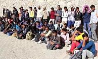Başkentte 75 düzensiz göçmen yakalandı