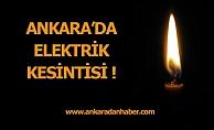 Beypazarı'nda enerji kesintisi
