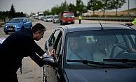 Çocuklardan ebeveynlerine trafik notu
