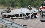 Hastane yolunda trafik kazası: 1 ölü, 5 yaralı