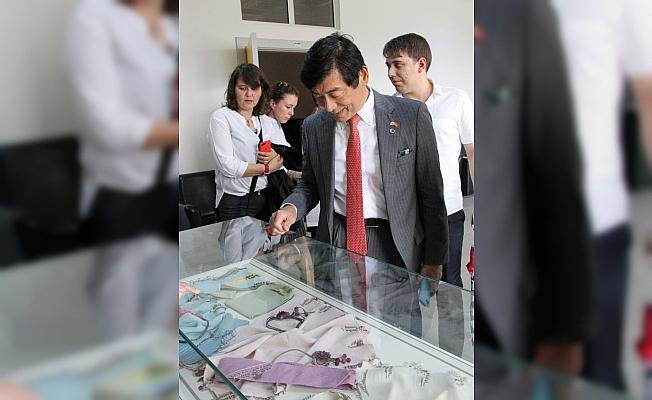 Japonya Büyükelçisi Miyajima Beypazarı'nda
