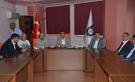 MHP il teşkilatı üyeleri Başkan Kalaycı'yı ziyaret etti